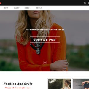 Adore Free Bootstrap Fashion Template