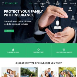 AT Insury Joomla Insurance Template