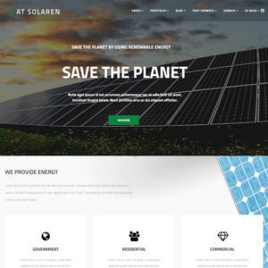 AT Solaren Free Solar Energy Joomla Template