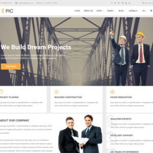 Epic Free Construction Joomla Template