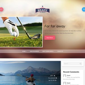 GoldMovie Free WordPress Sport Theme