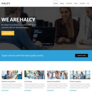 Halcy Free Joomla Business Template