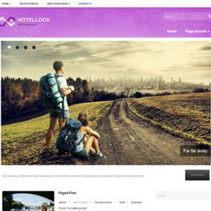 HotelLook Free WordPress Travel Theme