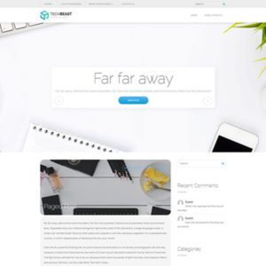 TechBeast Free Wordpress Technology Theme