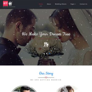 Wedding Proposer Free Bootstrap Wedding Template