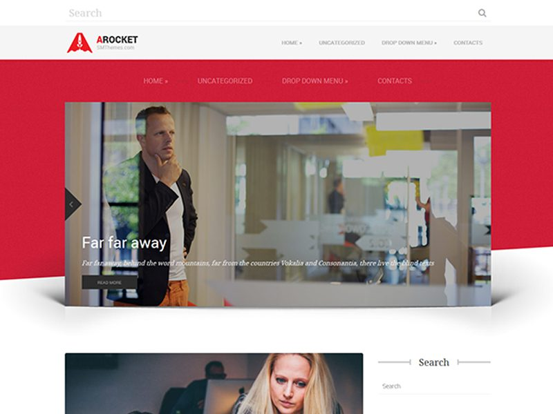 ARocket Free WordPress Business Theme