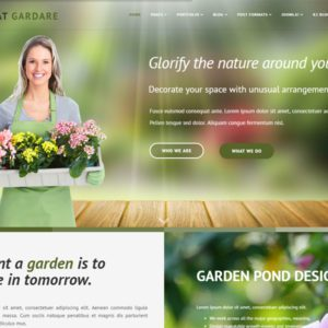 AT Gardare Joomla Garden Template