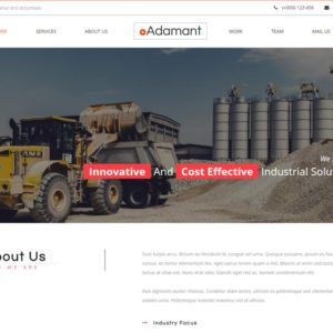 Adamant Bootstrap Construction Template