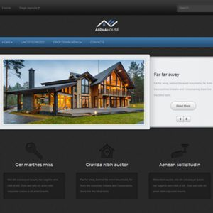 AlphaHouse Free WordPress Real Estate Theme
