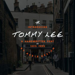 Tommy Lee Free Font