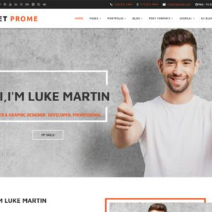 ET Prome Free Joomla Personal Template