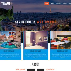 Go Travel Free Bootstrap Travel Template