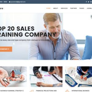 Mature Free Joomla Business Template