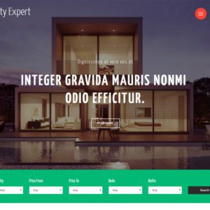 Realty Expert Bootstrap Real Estate Template