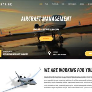 AT Airus Free Joomla Private Airline Template