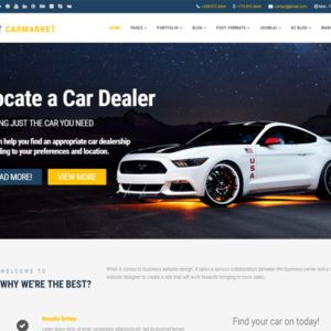 LT Carmarket Free Joomla Car Dealer Template