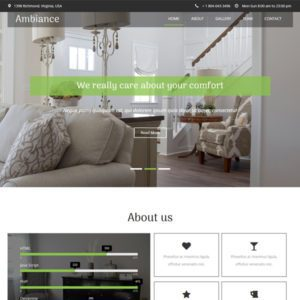 Ambiance Free Furniture Bootstrap Template