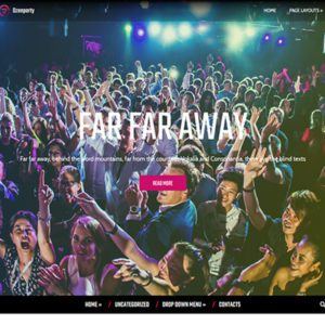 DzenParty Free Event WordPress Theme