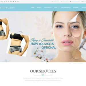 LT Surgery Free Joomla Plastic Surgery Template