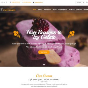 ET IceCream Free Joomla Ice Cream Template