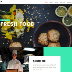 Flavorful Free Restaurant Bootstrap Template