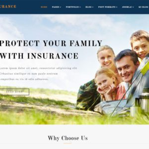 ET Insurance Free Joomla Insurance Template