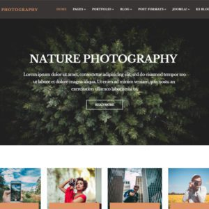 ET Photography Free Joomla Photography Template