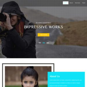 Snap Free Photo Grallery Bootstrap Template