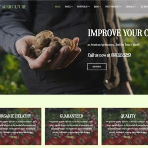 ET Agriculture Free Joomla Agriculture Template