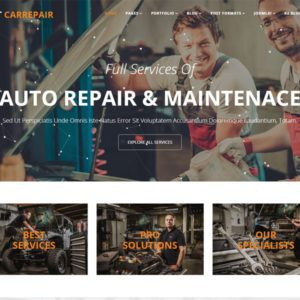 ET Car Repair Joomla Car Repair Template