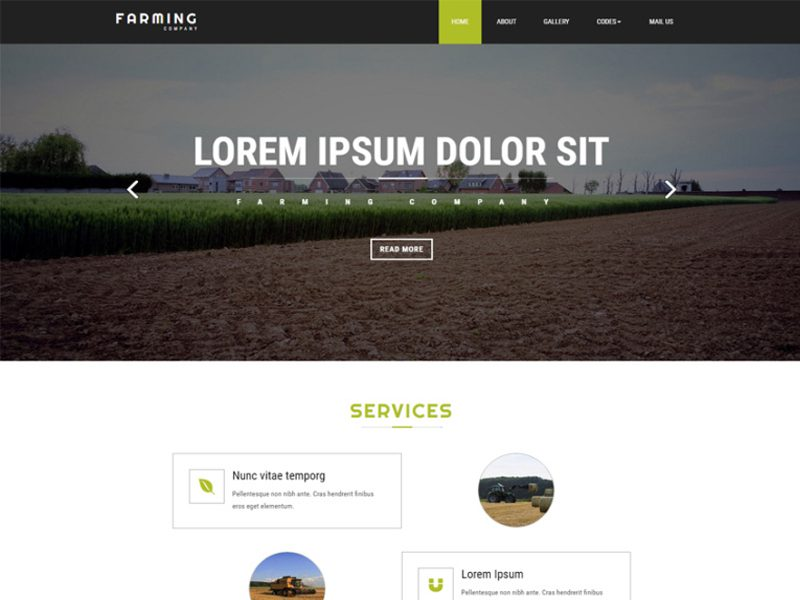 Farming free website template for agriculture business freemium farming free website template for agriculture business accmission Gallery