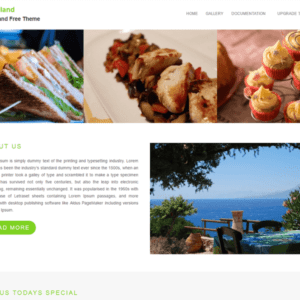 Foodland Free Food WordPress Theme