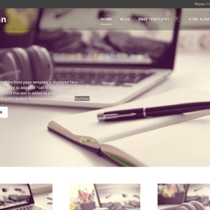 Goran Free WordPress Theme For Business