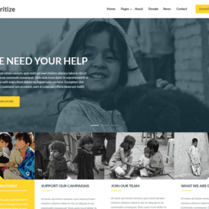 Charitize Free Charity WordPress Theme