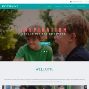 Discipline Bootstrap Education Template