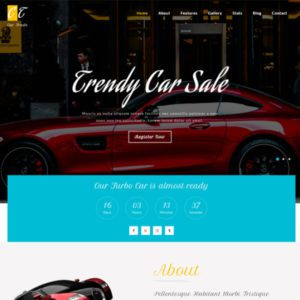 Car Trade Bootstrap Car Template