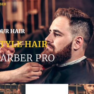 ET Barber Free Responsive Barber Website Template