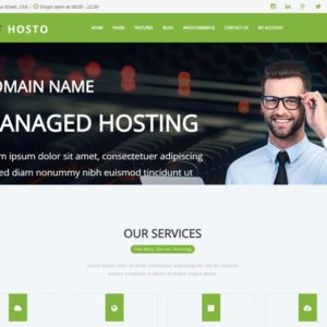 ET Hosto Free Web Hosting WordPress Theme