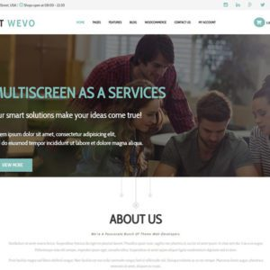 ET Wevo Free Responsive Web Design WordPress Theme