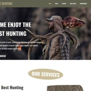 LT Hunting Free Responsive Hunting WordPress Theme