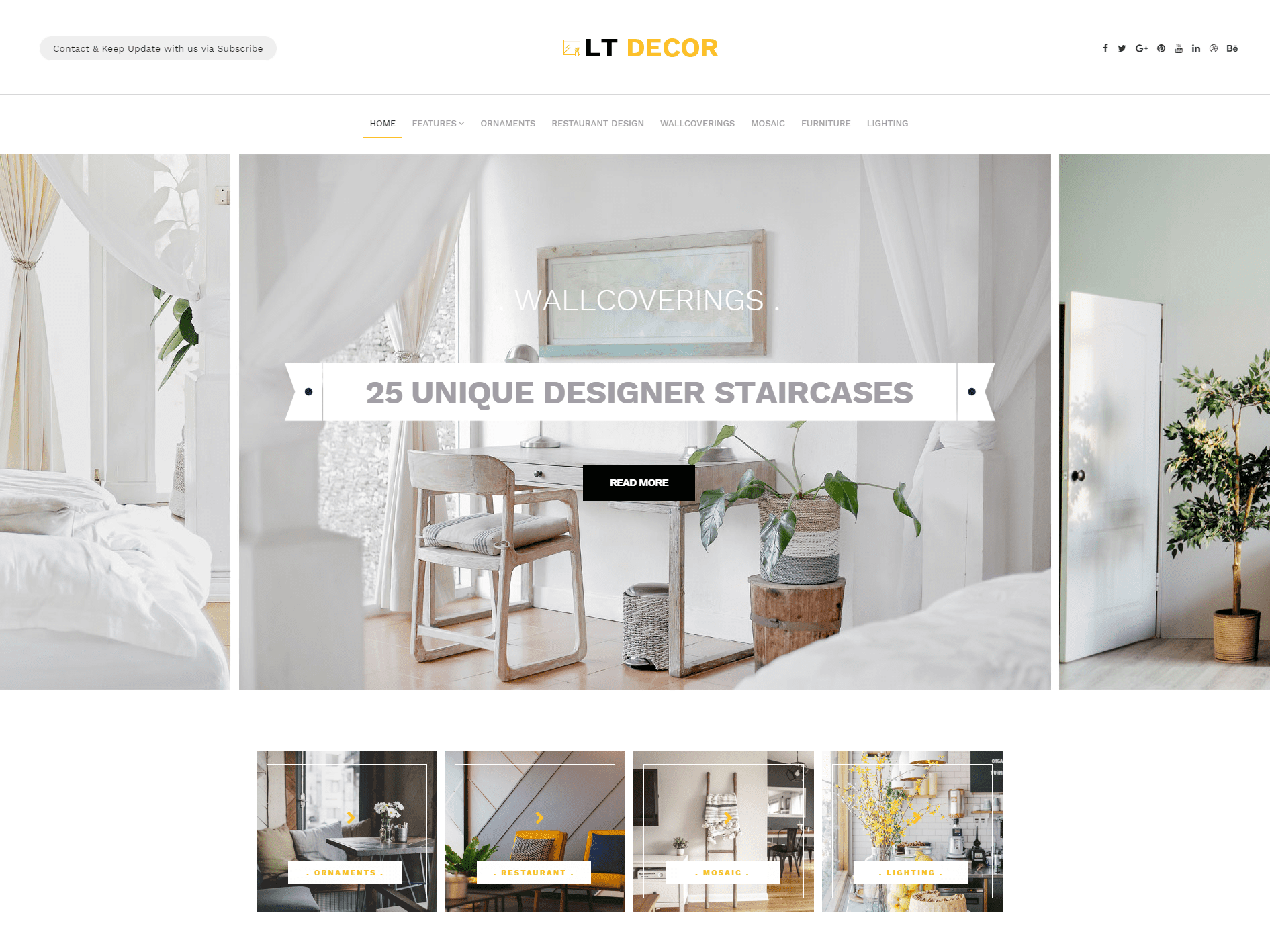 Lt Decor Free Interior Decorating Website Template Freemium Download,Back Neck Simple Embroidery Designs For Blouse