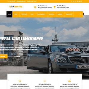 free at rental joomla template