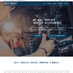 Free lt corepair wordpress theme