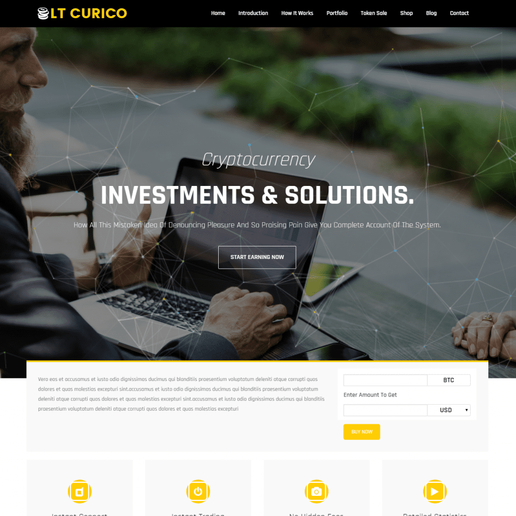 Free lt curico wordpress theme