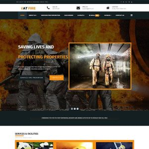 at fire onepage joomla template
