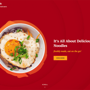 Free Foodoholic WordPress Theme