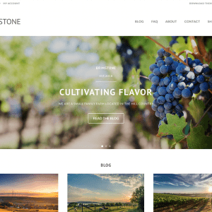 Free Brimstone WordPress Theme