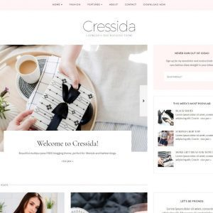 Free Cressida WordPress Theme