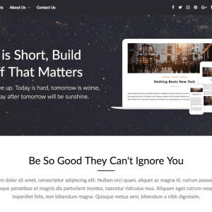 Free PageBuilderly WordPress Theme