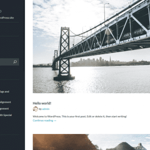 Free Fotografo WordPress theme